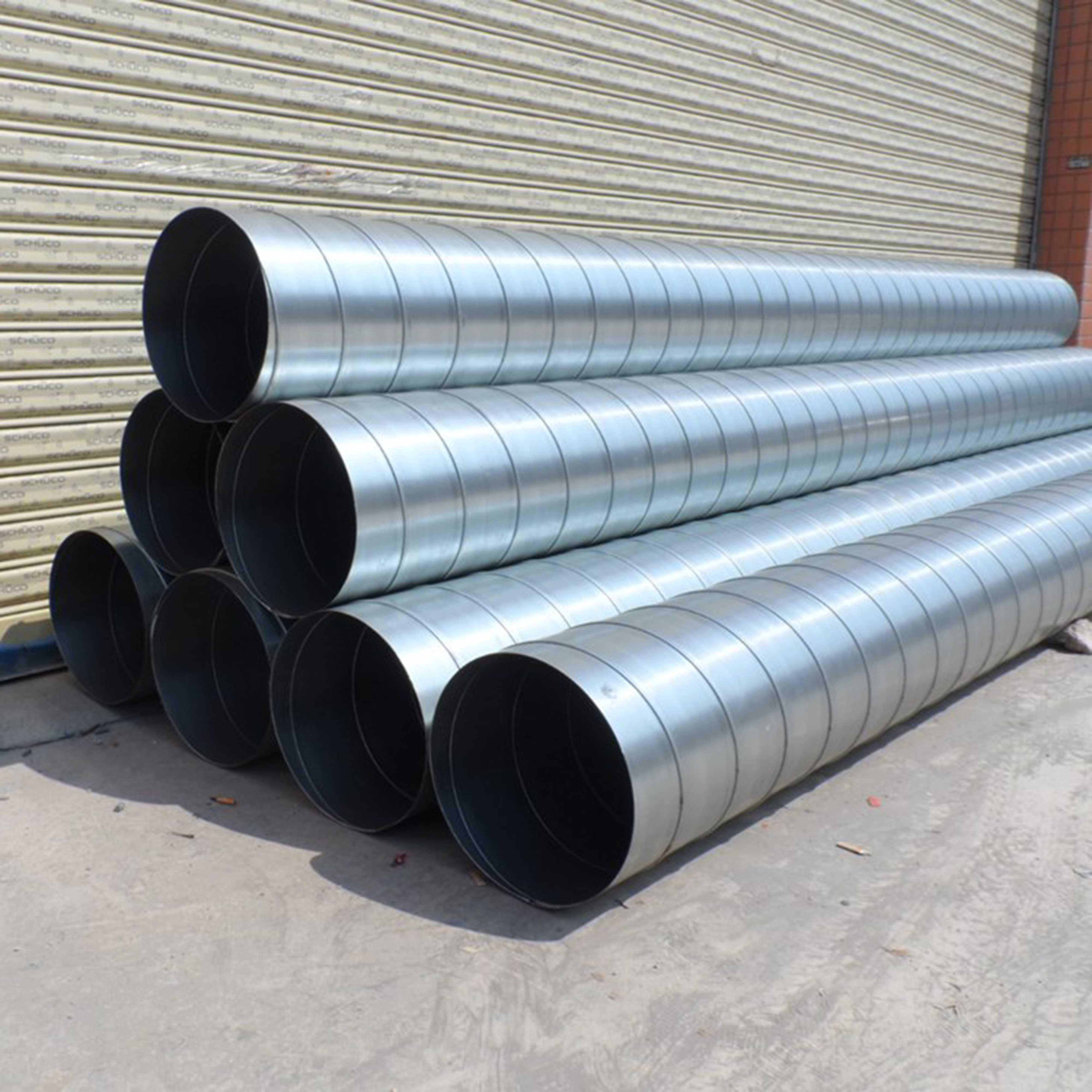 不锈钢风管-镀锌螺旋风管