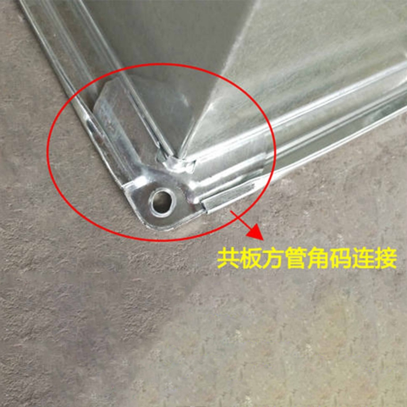 共板法兰角码-不锈钢风管加工厂