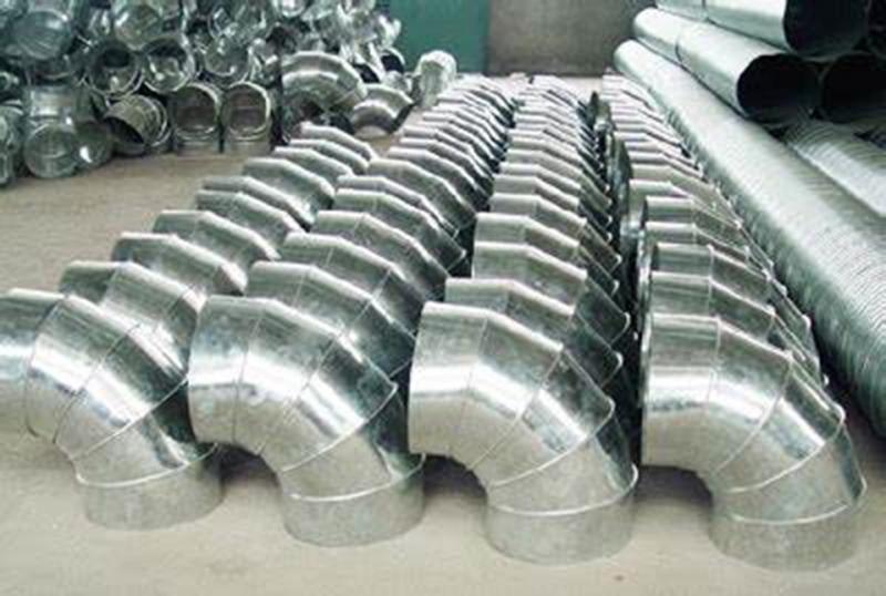 不锈钢风管加工厂:镀锌风管生产加工应留意的问题