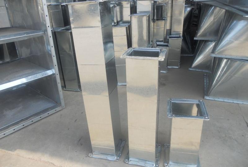 不锈钢风管加工厂:论述通风空调工程风管安装方式